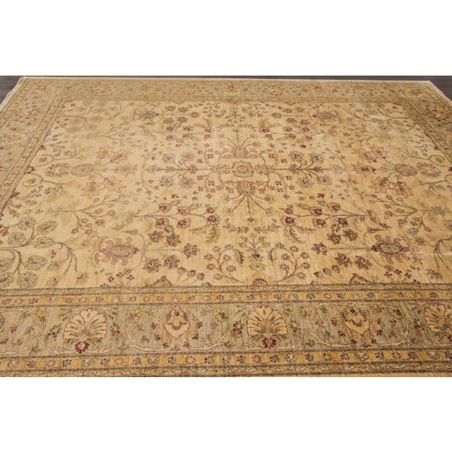 "Textile Apadana Peshawar Rug - 8'1"" x 10'6"" For Sale - Image 7 of 7"
