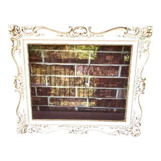 Antique French Style White Cedar Frame