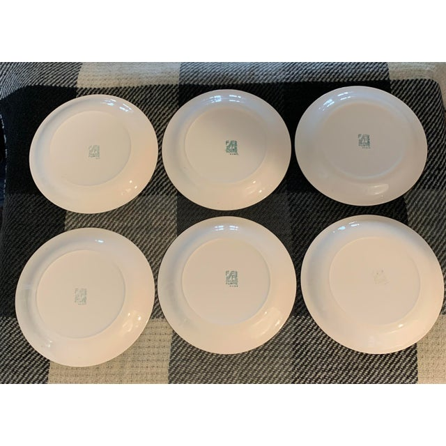 Mid 20th Century Vintage Figgjo Flint Norwegian Small Plates - Set of 6 For Sale - Image 5 of 11