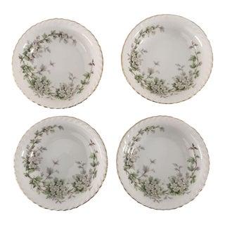 Vintage Dogwood Floral Bowls - Set of 4