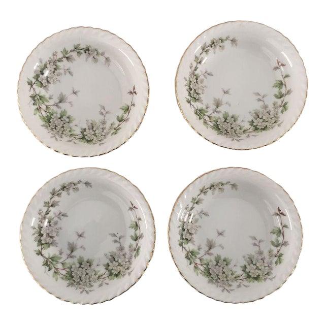 Vintage Dogwood Floral Bowls - Set of 4 For Sale