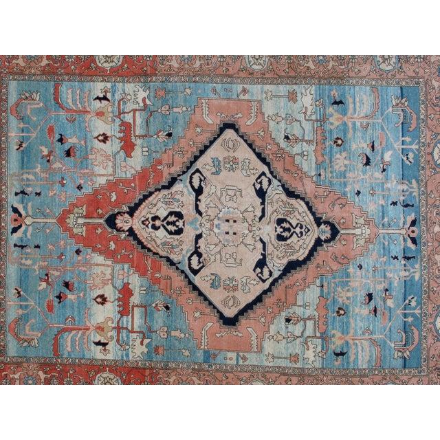 Islamic Leon Banilivi Persian Bakhshaish Rug - 9′ × 12′ For Sale - Image 3 of 6