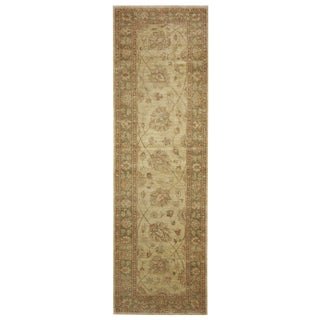 """New Afghan Rug - 2'10"""" x 10'4"""" For Sale"""