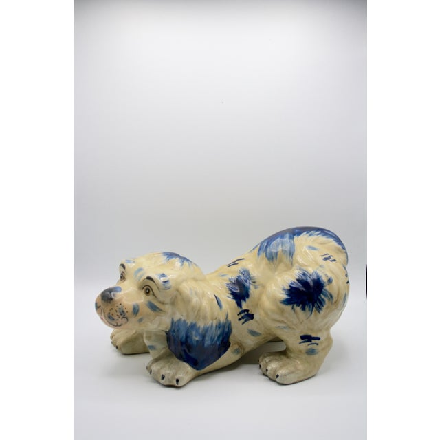 Staffordshire Style Puppy Figurine For Sale In Pittsburgh - Image 6 of 6