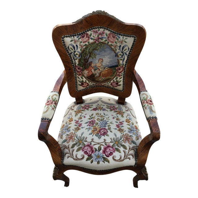 1900s Antique Accent Chair For Sale