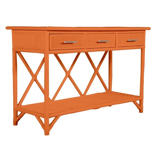 Aruba Sideboard - Orange For Sale In West Palm - Image 6 of 6