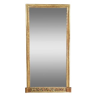 Louis XVI Giltwood Pier Mirror For Sale