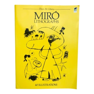 Miró Book For Sale