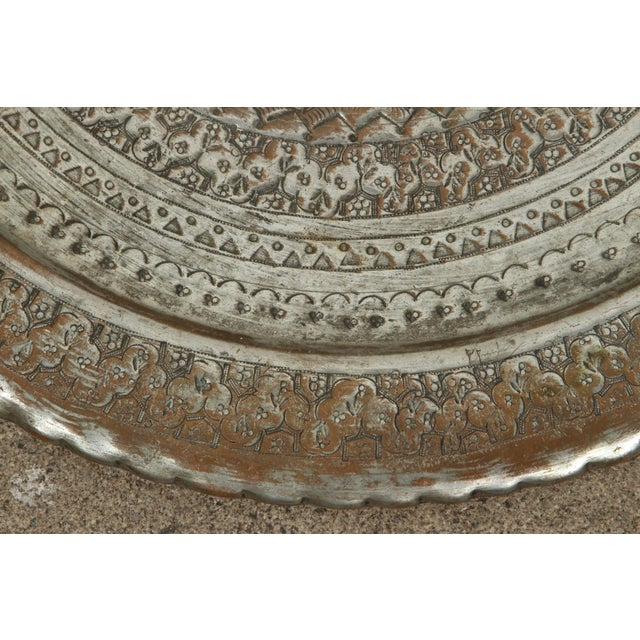 Early 20th Century Persian Hanging Platter For Sale - Image 5 of 10