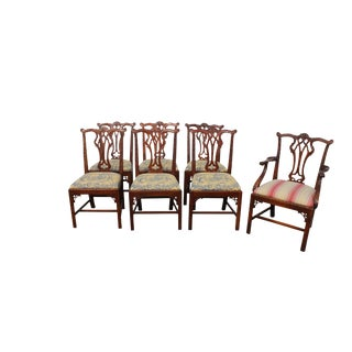 Chippendale Style Chairs - Set of 7