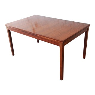 Arne Vodder for Sigh & Sons Danish Modern Rosewood Extension Dining Table For Sale