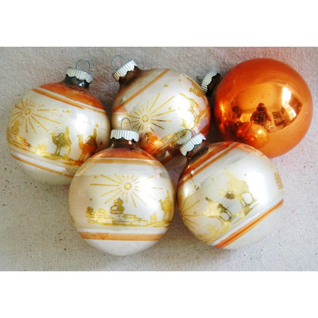 1950s Christmas Ornaments With Box - Set of 9 - Image 8 of 8
