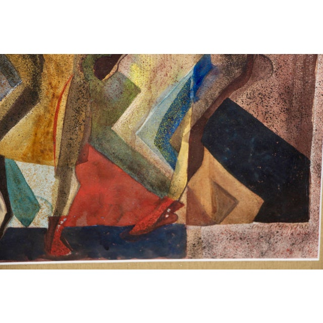 "Lloyd Moylan ""Dancers"" Painting, 1930s-1940s For Sale In Palm Springs - Image 6 of 7"