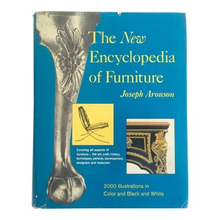 """The New Encyclopedia of Furniture"" Vintage 1967 Interior Design Furniture Book For Sale"