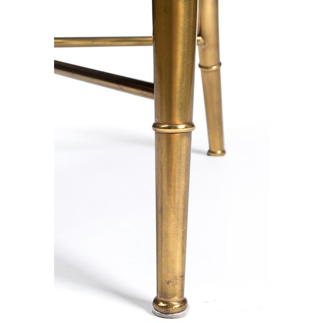 Brass Weiman/Warren Lloyd for Mastercraft The Imperial Chair - Set of 8 For Sale - Image 7 of 7