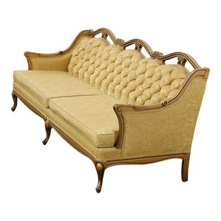 1960s Vintage Mediterranean Style Settee For Sale