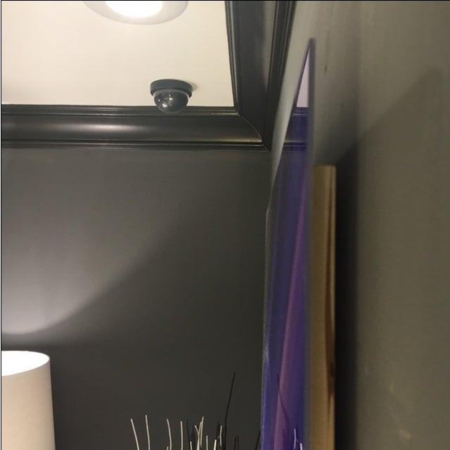 Purple Gemstone on Lex Diptych - Image 4 of 4