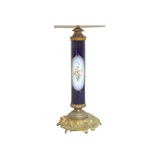 Antique Porcelain Sèvres Lamp For Sale - Image 5 of 9