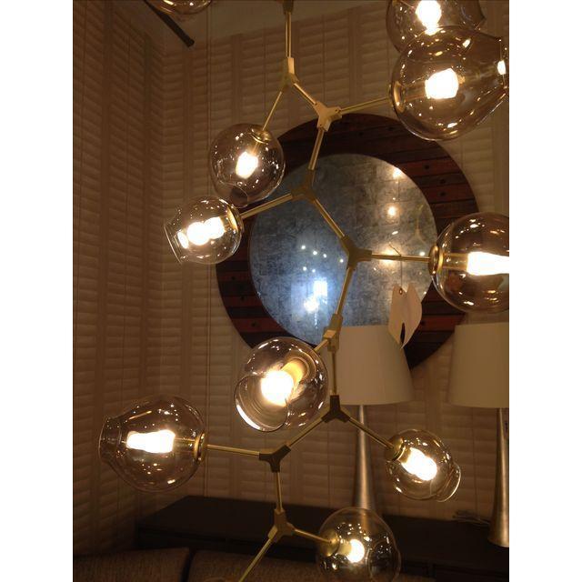 Lindsey Adelman Style 15 Light Bronze Chandelier - Image 3 of 4