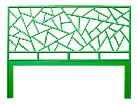 Image of Bright Green Headboards