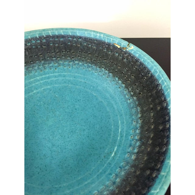 Vintage Italian Raymor Bitossi Pottery Bowl For Sale In Milwaukee - Image 6 of 6