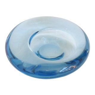 Danish Modern Glass Bowl by Per Lütken For Sale