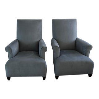 Donghia Club Chairs Set 2 For Sale