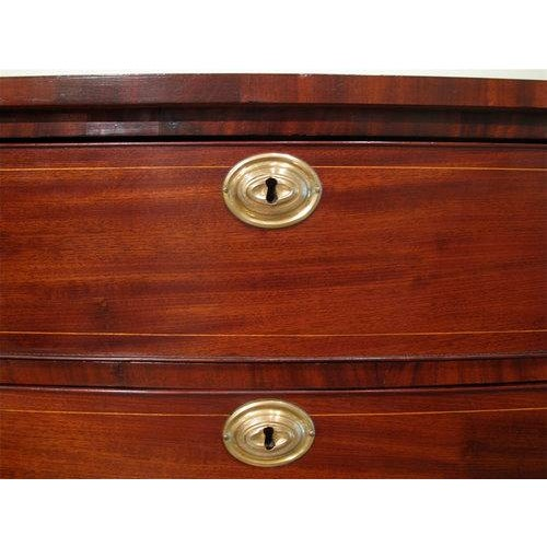Early 19th Century Portsmouth, New Hampshire Federal Chest of Drawers For Sale - Image 5 of 11