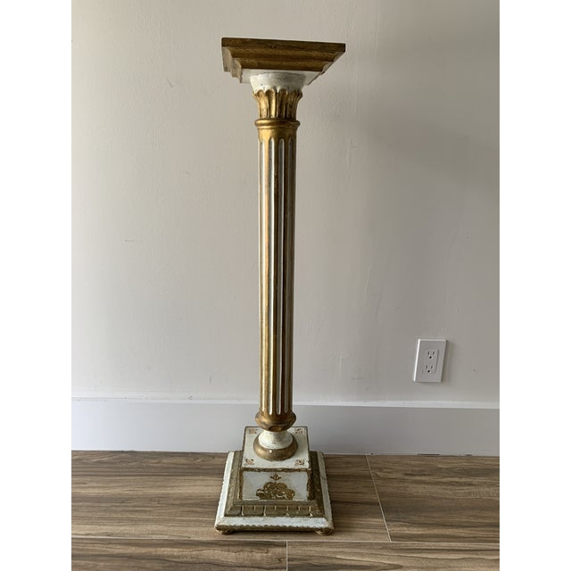 Vintage Louis Style French Classical Display Pedestal For Sale In Miami - Image 6 of 13