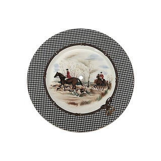 Ralph Lauren Balmoral Hunt Cake Plate For Sale