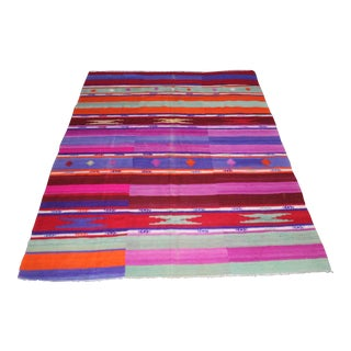 "Oriental Turkish Kilim - 7'8"" x 5'8"""