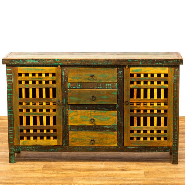 STORE WIDE SALE 50% OFF EVERYTHING !!! Striking from near or afar, this outstanding buffet makes a statement. Its stand...