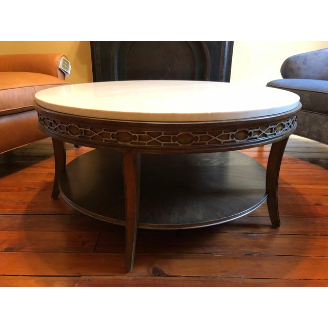Drexel Heritage Olio Collection Coffee Table For Sale - Image 5 of 8