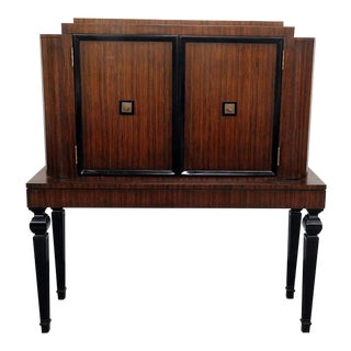 20th Century Art Deco Style Rosewood Bar For Sale