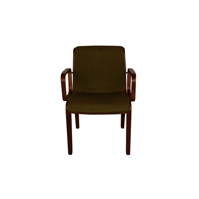 1970s Mid Century Bill Stephens Knoll Bentwood Chair For Sale - Image 5 of 11