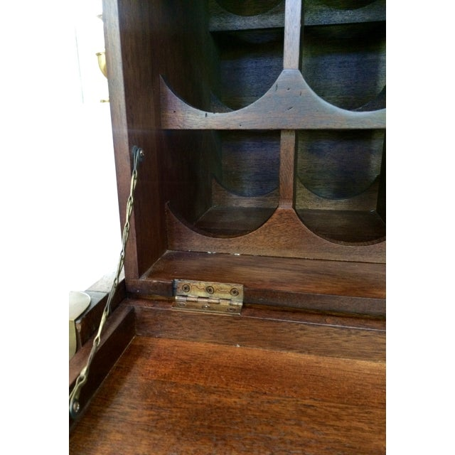 Campaign-Style Wine Rack For Sale - Image 7 of 10
