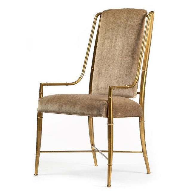 Italian Weiman/Warren Lloyd for Mastercraft The Imperial Chair - Set of 8 For Sale - Image 3 of 7