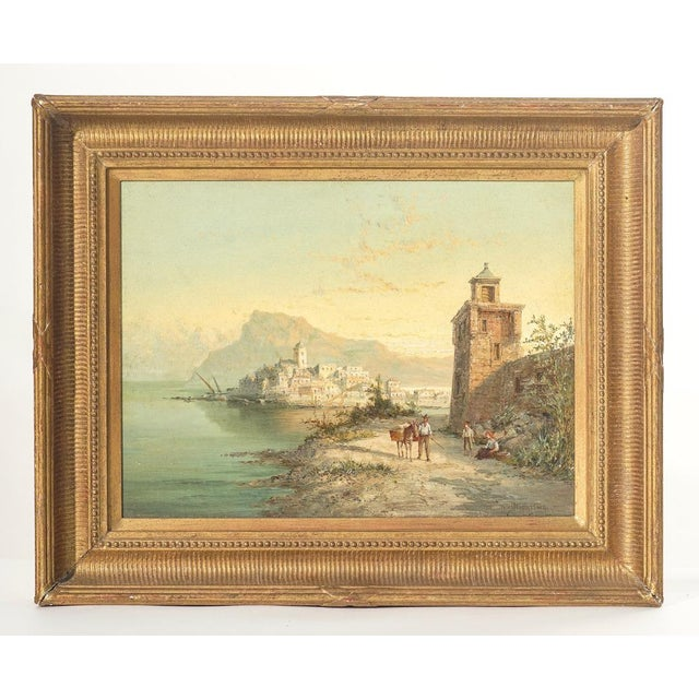 19th Century Signed Listed Artist Wm. R. Dommeson For Sale - Image 4 of 4