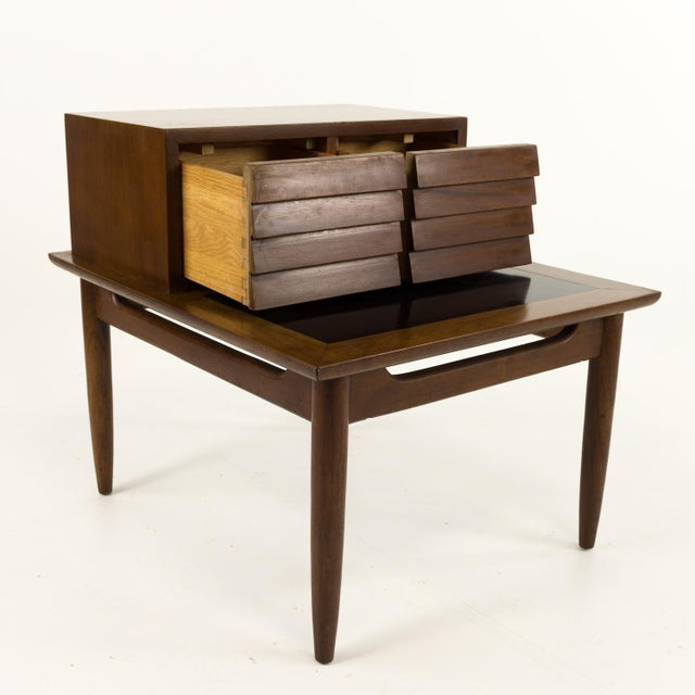 Mid 20th Century Mid Century Modern Merton Gershun for American of Martinsville Nightstand For Sale - Image 5 of 10