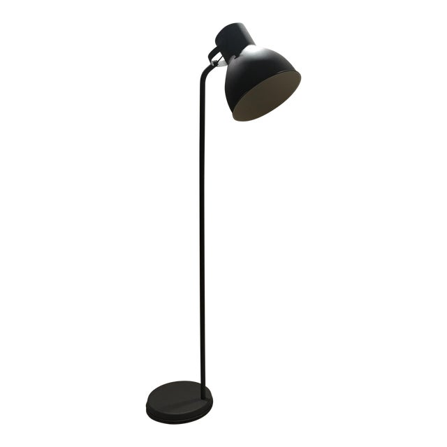 Dark Bronze Industrial Floor Lamp - Image 1 of 6