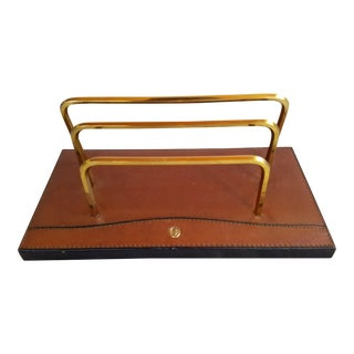 Leather Letter Holder