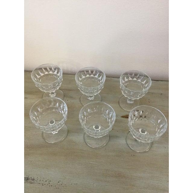 Traditional Vintage 1960's Cocktail Glasses Marked France - Set of 8 For Sale - Image 3 of 6