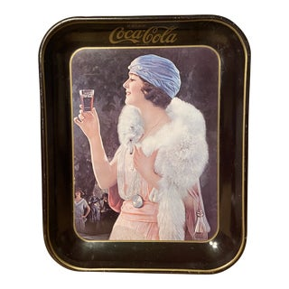 1960's Coca Cola Advertising Tray For Sale