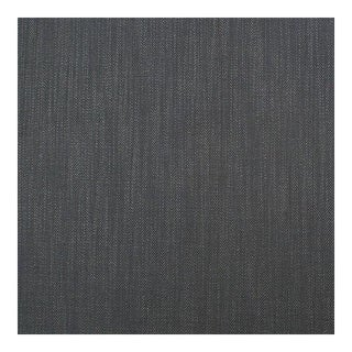 Herringbone Carbon Gray Fabric - 1 Yard For Sale