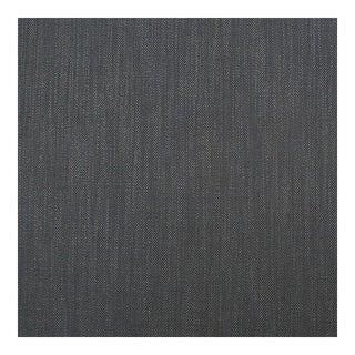 Herringbone Carbon Gray Fabric, Belgian, Multiple Yardage Available