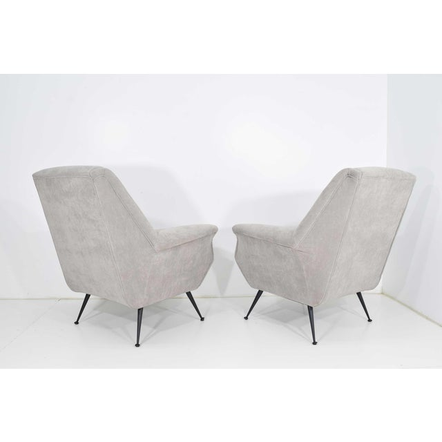 Metal Gigi Radice Lounge Chairs - a Pair For Sale - Image 7 of 10
