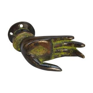 Bronze Hand Drawer Pull