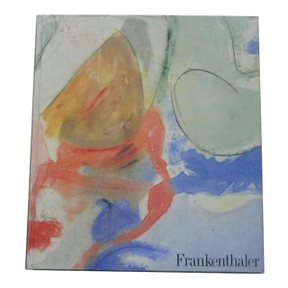 1989 Frankenthaler Book by Elderfield For Sale