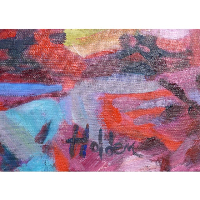 Monumental Abstract House Painting - Image 7 of 7