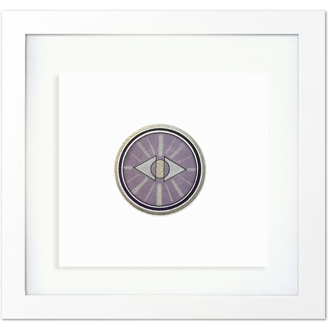 Abstract Natasha Mistry Framed Minimalist Geometric Ink Drawings - Set of 9 For Sale - Image 3 of 8